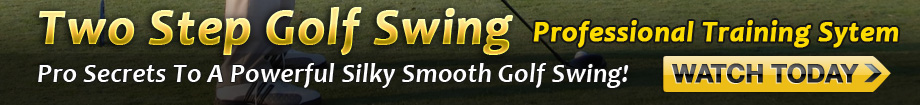 2 Step Golf Swing Banner 1