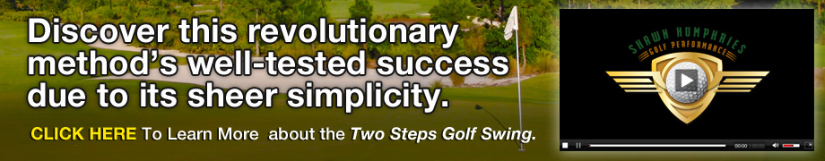 2 Step Golf Swing Banner 2